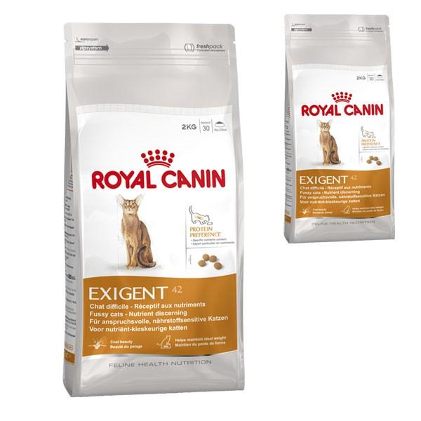 Royal Canin Katzenfutter Exigent 42 Protein preference 4 Kg + 400 g gratis