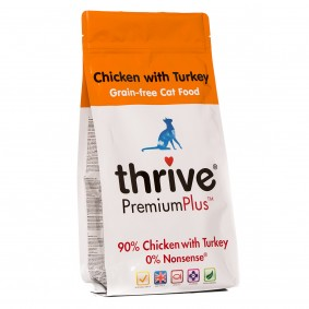thrive Cat PremiumPlus 90% Huhn & Truthahn