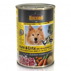 Belcando Feuchtnahrung Huhn & Ente mit Hirse & Karotten
