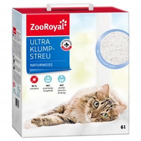 ZooRoyal Ultra Klump-Streu mit frischem Duft naturweiss 6l