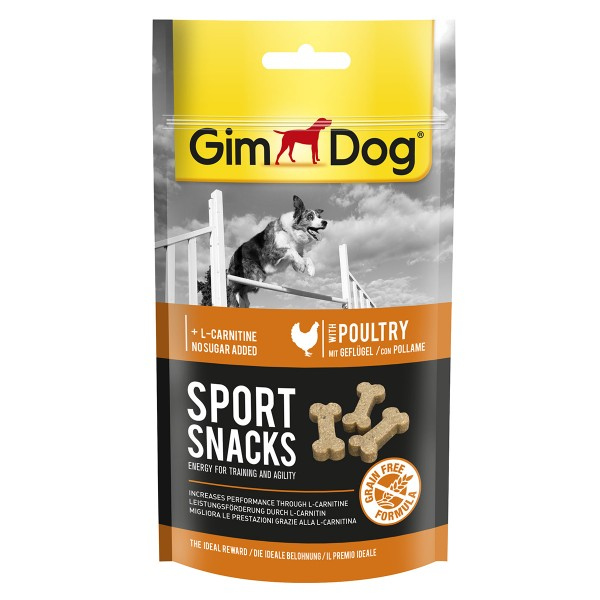 GimDog Sportsnacks für Hunde Geflügel