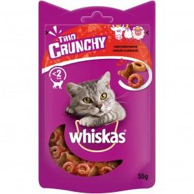 Whiskas Trio Crunchy Treats Fleischgeschmack