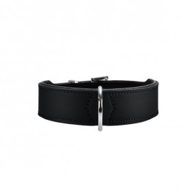 HUNTER Halsband Basic nickel schwarz