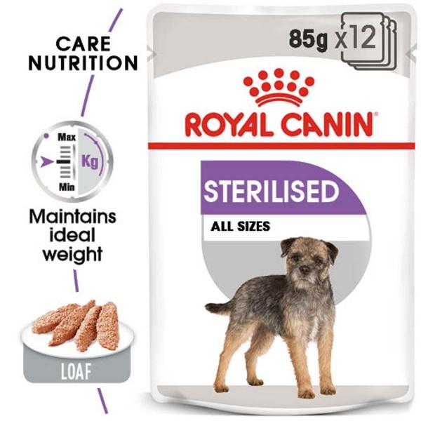 ROYAL CANIN STERILISED MINI 8kg + STERILISED Mousse 12x85g