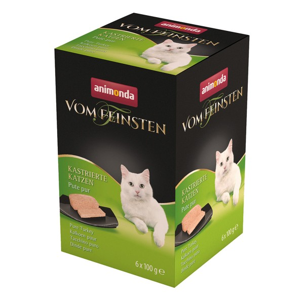 Animonda Vom Feinsten für kastrierte Katzen Pute pur