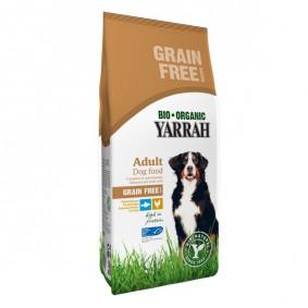 Yarrah Hundefutter Bio Huhn und Fisch Getreidefrei