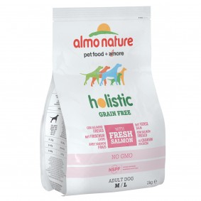 Almo Nature Holistic Grain Free Medium/Large Dogs Lachs und Kartoffeln