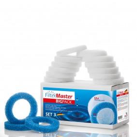 Filtermaster Filtermedien BigPack Set 3 für Eheim Ecco, Ecco Pro und Ecco Comfort