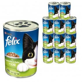 Felix friandises en sauce 24x400g