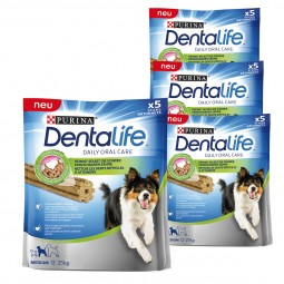 Purina DentaLife Snacks für mittelgroße Hunde