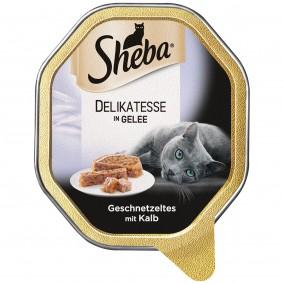 Sheba Katzenfutter Delikatesse in Gelee Kalb