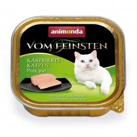 Animonda Vom Feinsten pro vykastrované kočky, čistá krůta, 100 g