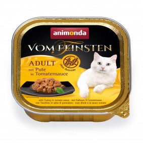 Animonda Vom Feinsten Adult mit Pute in Tomatensauce 6x100g