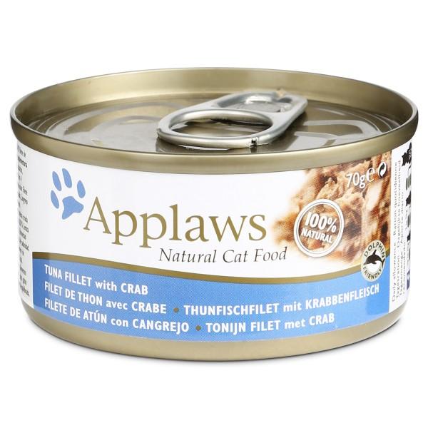 Applaws Cat Thunfischfilet & Krabbenfleisch - 70g