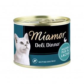 Miamor Deli Dinner Huhn Pur und Lachs