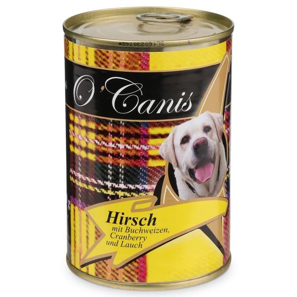 OCanis Hundefutter Hirschfleisch und Buchweizen - 400g