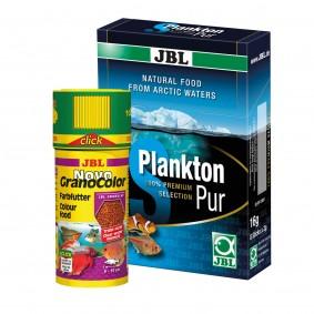 JBL Sparbundle Novo GranoColor Click 250ml + PlanktonPur S 8x2g
