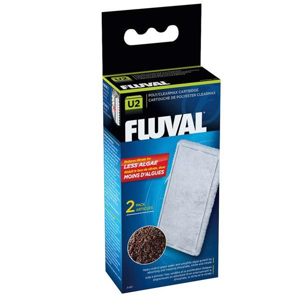 Fluval Clearmax Filtereinsatz 2er Pack U-Serie