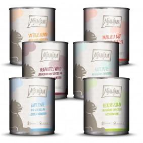 MjAMjAM Mixpaket III Wild & Kaninchen, Pute, Ente & Geflügel, Herzen, Huhn, Rind