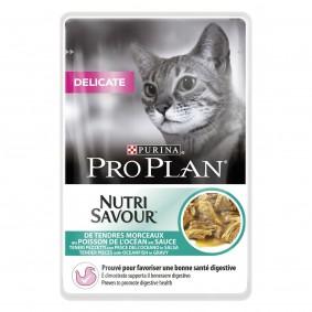 Pro Plan Katzen-Nassfutter Delicate Hochseefisch 85g