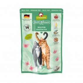 GranataPet Katze - Delicatessen Pouch Wild PUR
