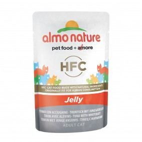 Almo Nature HFC in Jelly Thunfisch und Jungsardellen