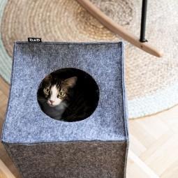 D&D Katzenhöhle aus Filz
