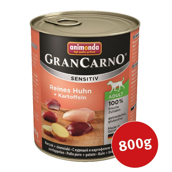 Animonda Nassfutter Grancarno Sensitiv Huhn & Kartoffel