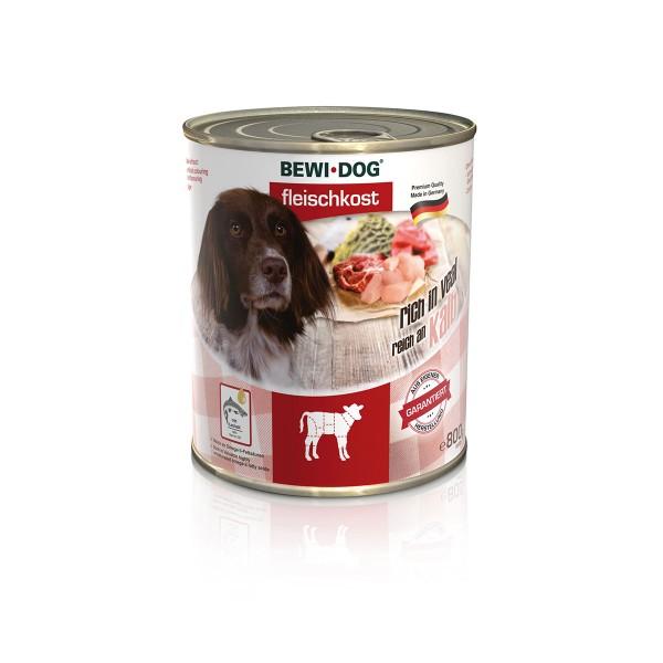 Bewi Dog Hunde-Fleischkost Reich an Kalb