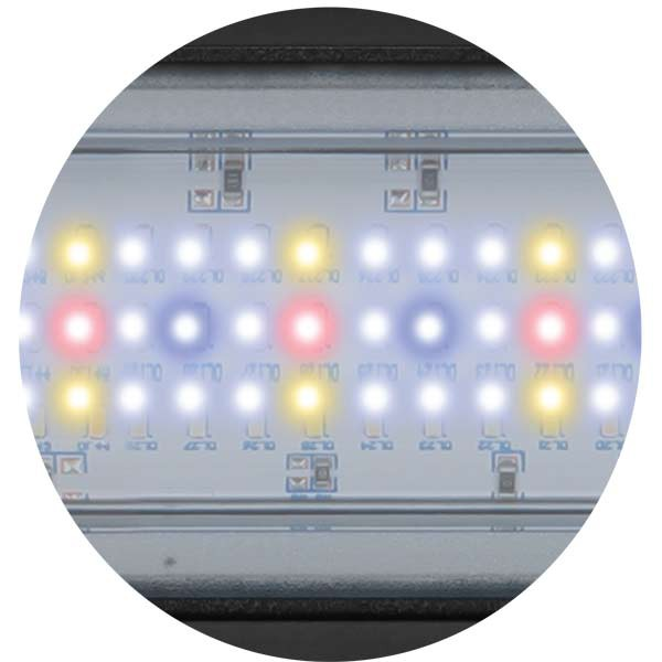 Aquatlantis Aquarium Kombination Fusion 80 LED weiß 19mm