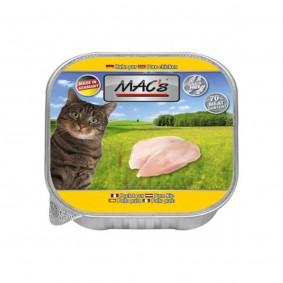 Mac's Cat Katzenfutter 32x85g Portionsschalen verschiedene Sorten