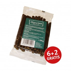 Chewies Pansenröllchen 200g 6+2 GRATIS