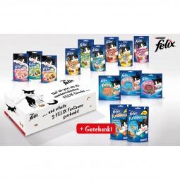 Felix Leckerlis Box plus gratis Funsauces