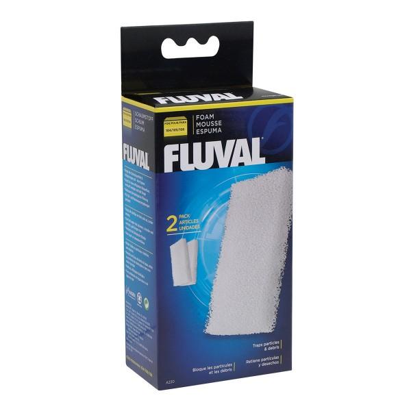 Fluval Filterschaumstoff für 104,105,106 (2er Set)