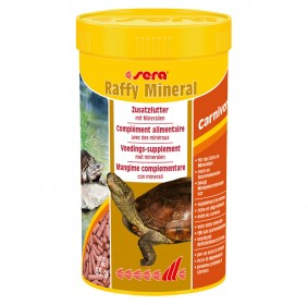 Sera Raffy Mineral Aliment pour tortues