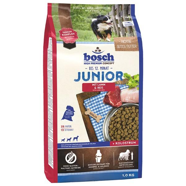 Bosch Hundefutter Junior Lamm & Reis - 1kg