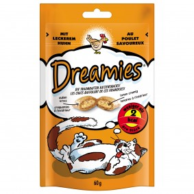 Dreamies - Snack au poulet 60 g