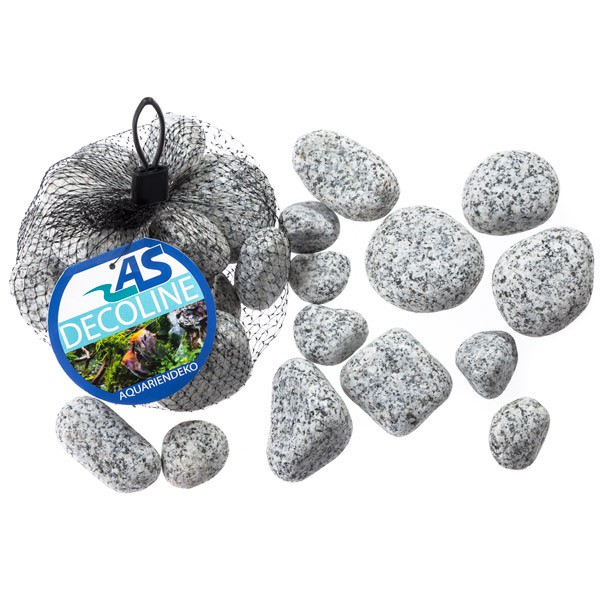 Aquarium Dekoration Naturstein Granit 1 kg