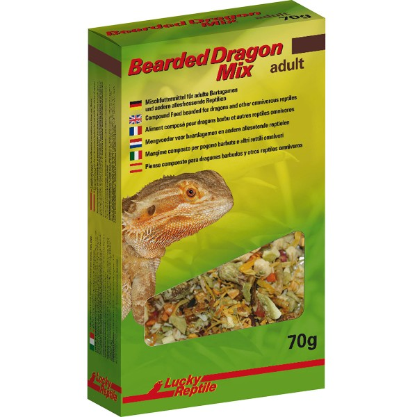 Lucky Reptile Bearded Dragon Mix Adult 70 g