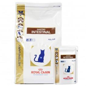 Royal Canin Vet Diet Gastro Intestinal GI 32 4kg + 12x100g