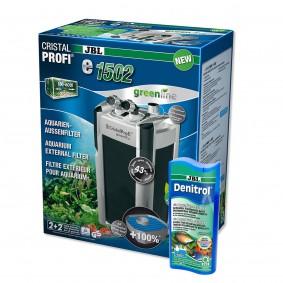 JBL CristalProfi e1502 greenline + Denitrol 250ml gratis