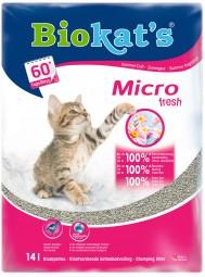 Biokat's Katzenstreu micro fresh die EXTRA-FEINE