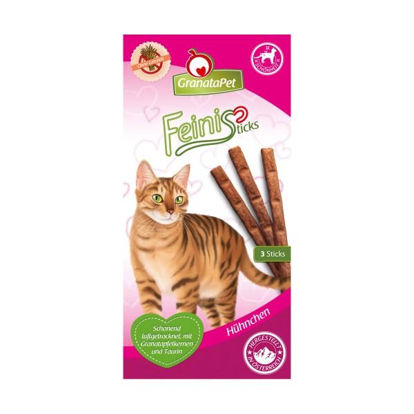 GranataPet Katzensnack FeiniSticks Hühnchen