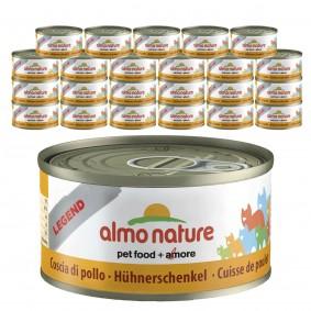 Almo Nature Legend Katzenfutter 24x70gHühnerschenkel