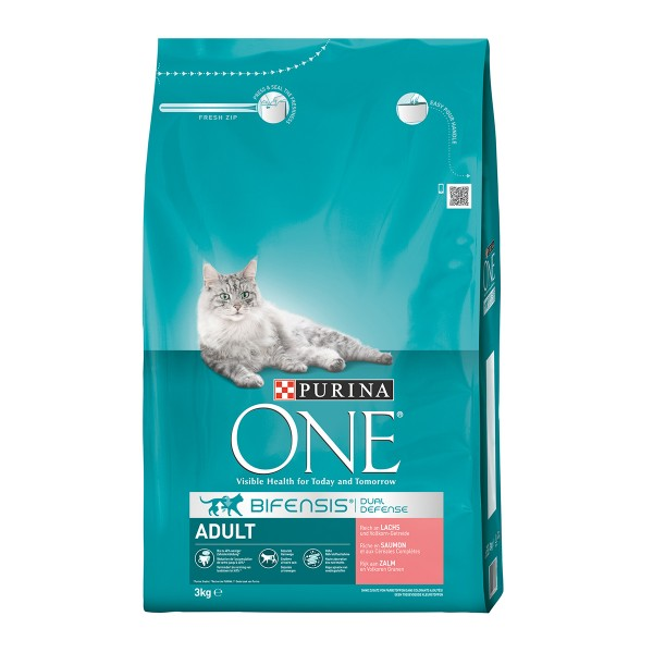 Purina ONE Bifensis Katzenfutter Adult Lachs