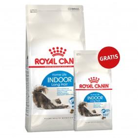Royal Canin Katzenfutter Indoor Long Hair 35- 10kg+2kg gratis