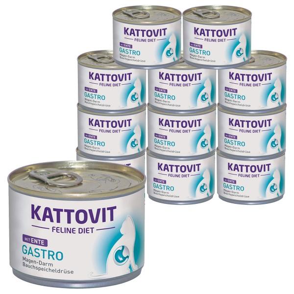 Kattovit Gastro mit Ente 12 x 175g