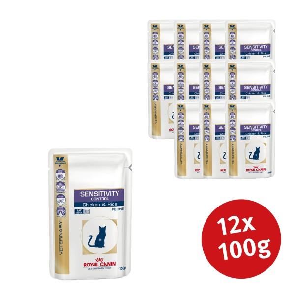 Royal Canin Vet Diet Nassfutter Sensitivity Control - 12x100g jetztbilligerkaufen
