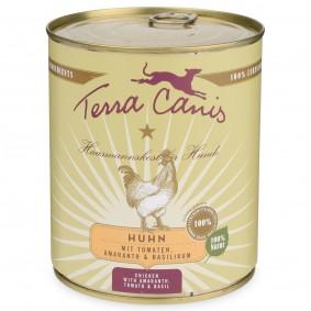 Terra Canis Huhn mit Amaranth, Tomaten und Basilikum 800g