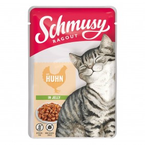Schmusy Ragout mit Huhn in Jelly
